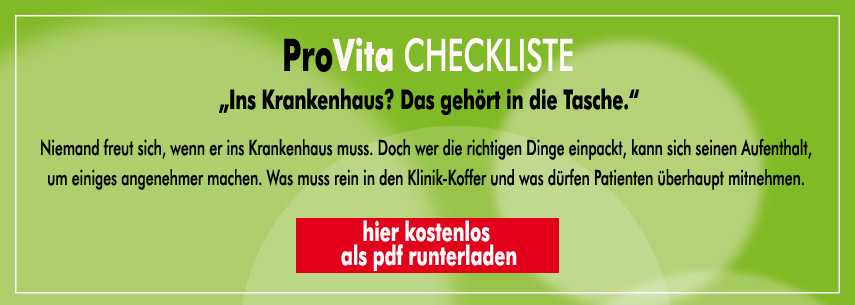 checkliste klinikkoffer packen